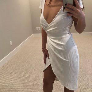 Dresses & Skirts - white wrap dress